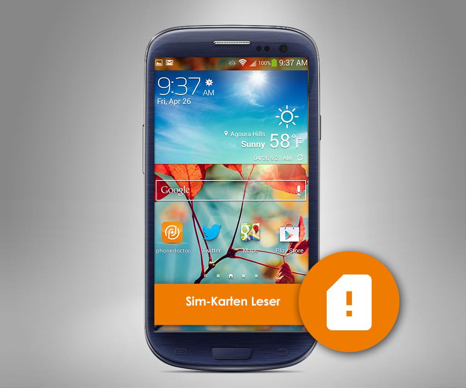 Samsung S3 Mini Sim Karte.Samsung Galaxy S3 Mini Sim Karten Leser