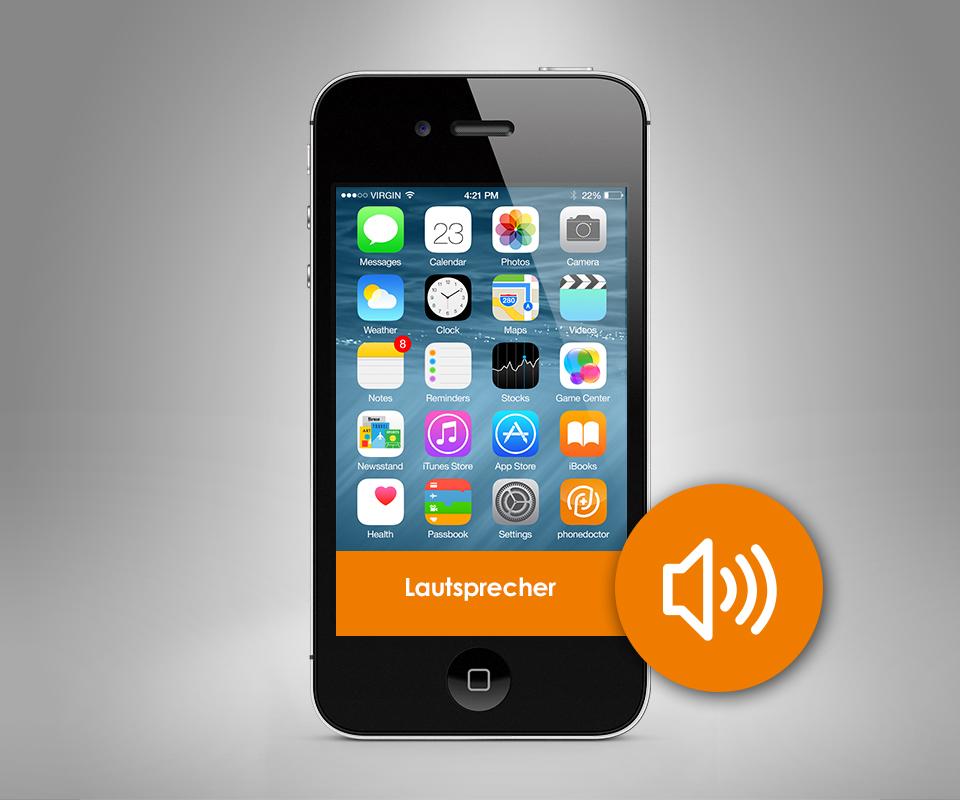 apple iphone 4 4s lautsprecher reparatur. Black Bedroom Furniture Sets. Home Design Ideas