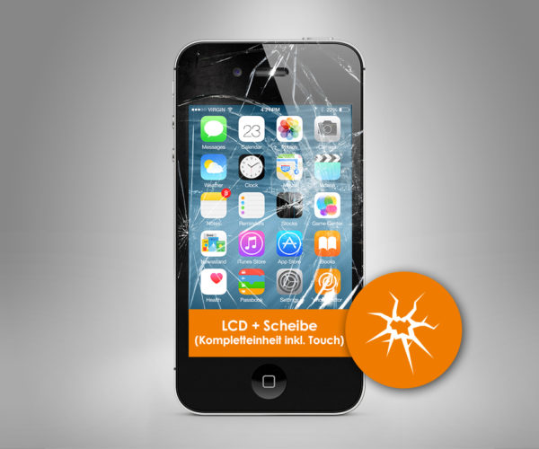 apple iphone 4 lcd bildschirm reparatur iphone 4s. Black Bedroom Furniture Sets. Home Design Ideas
