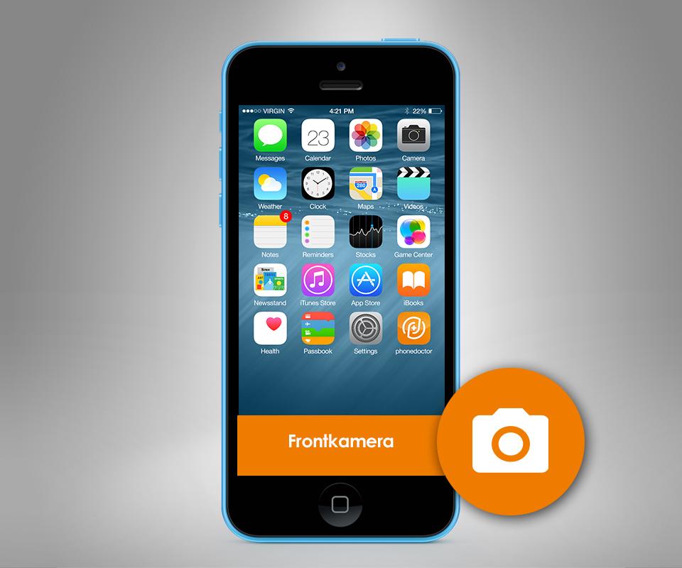 apple iphone 5c frontkamera. Black Bedroom Furniture Sets. Home Design Ideas