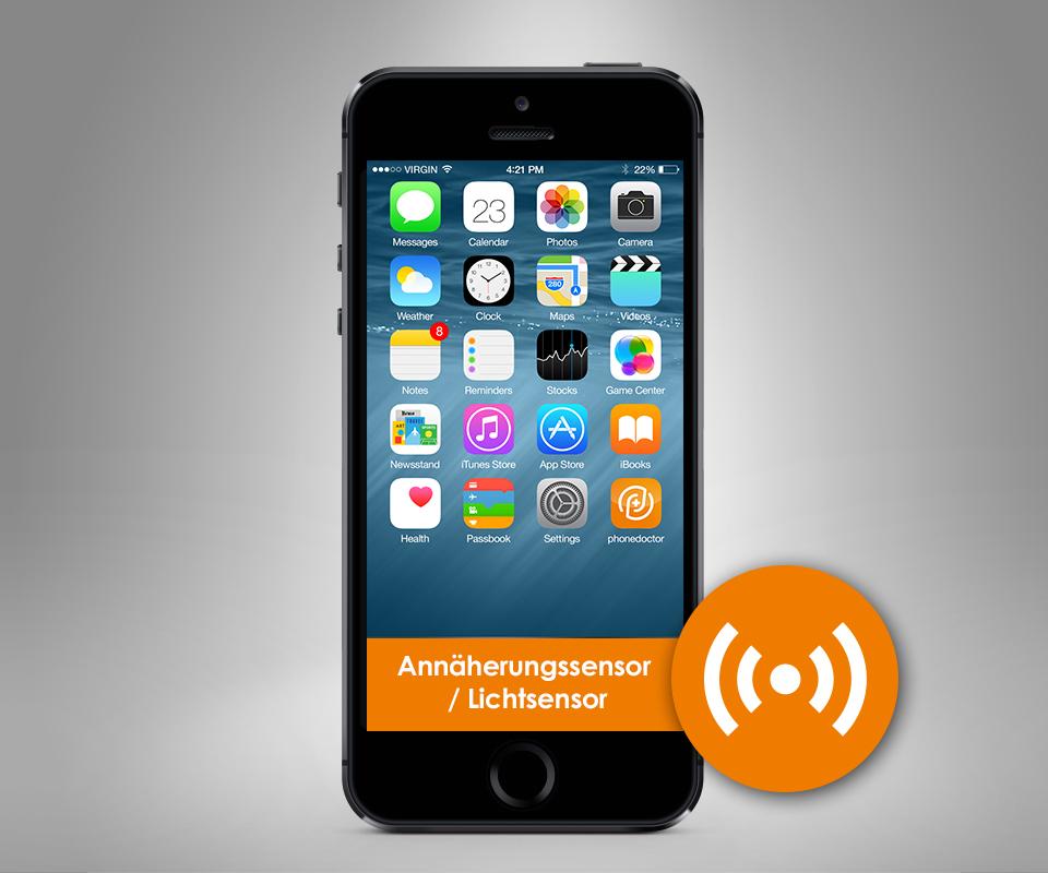 iphone 5s ann herungssensor lichtsensor reparatur. Black Bedroom Furniture Sets. Home Design Ideas