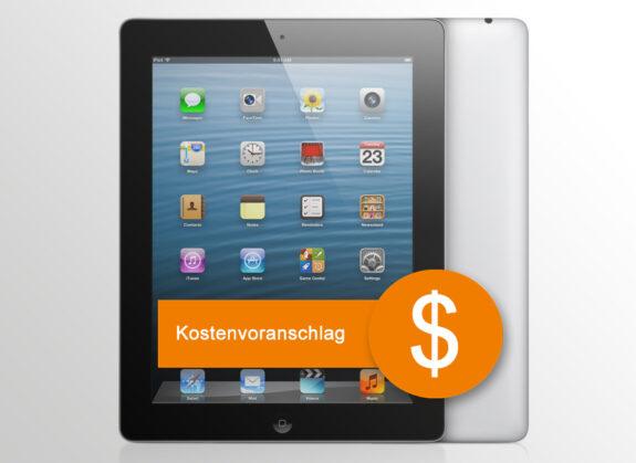 iPad Kostenvoranschlag für Versicherung