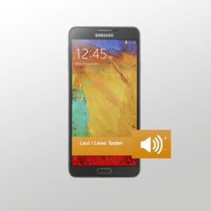 Samsung Note 3 Laut / Leise Tasten Reparatur