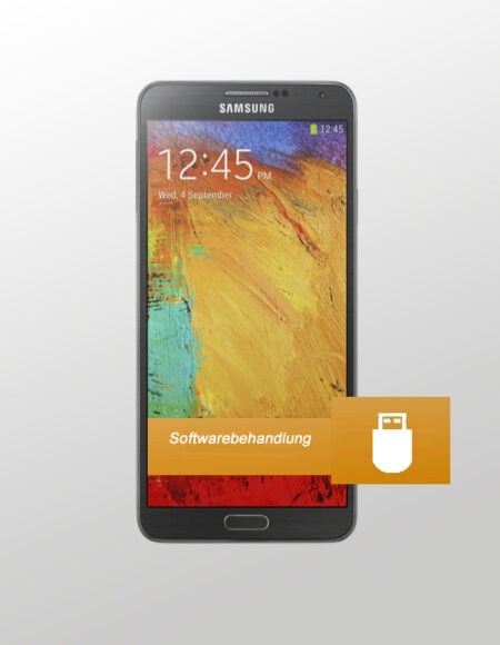 Samsung Note 3 Softwarebehandlung