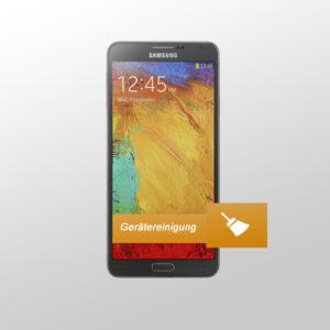 Samsung Note 4 Gerätereinigung