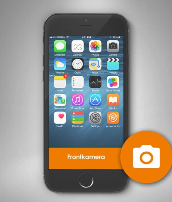 Smartphone Frontkamera Reparatur