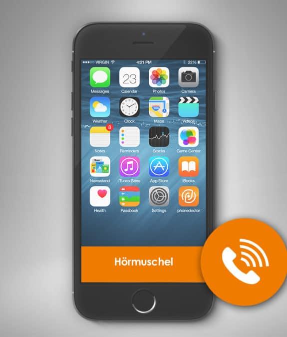Smartphone Hörmuschel Reparatur