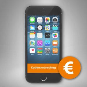 Kostenvoranschlag Smartphone Reparatur