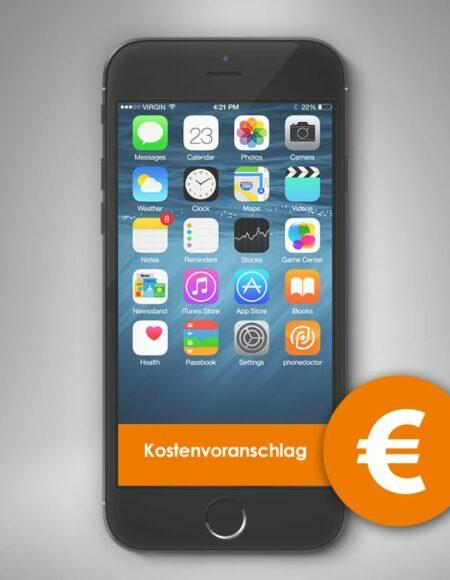 Smartphone Schaden Kostenvoranschlag Versicherung