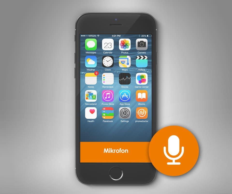 iphone 7 mikrofon reparatur beim meisterbetrieb phonedoctor. Black Bedroom Furniture Sets. Home Design Ideas