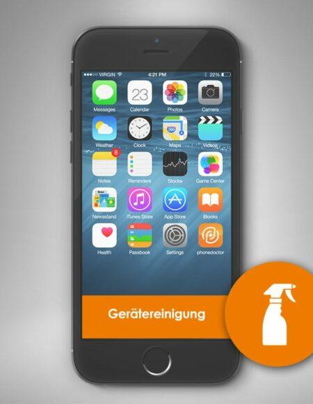 Smartphone Reinigung und Desinfektion