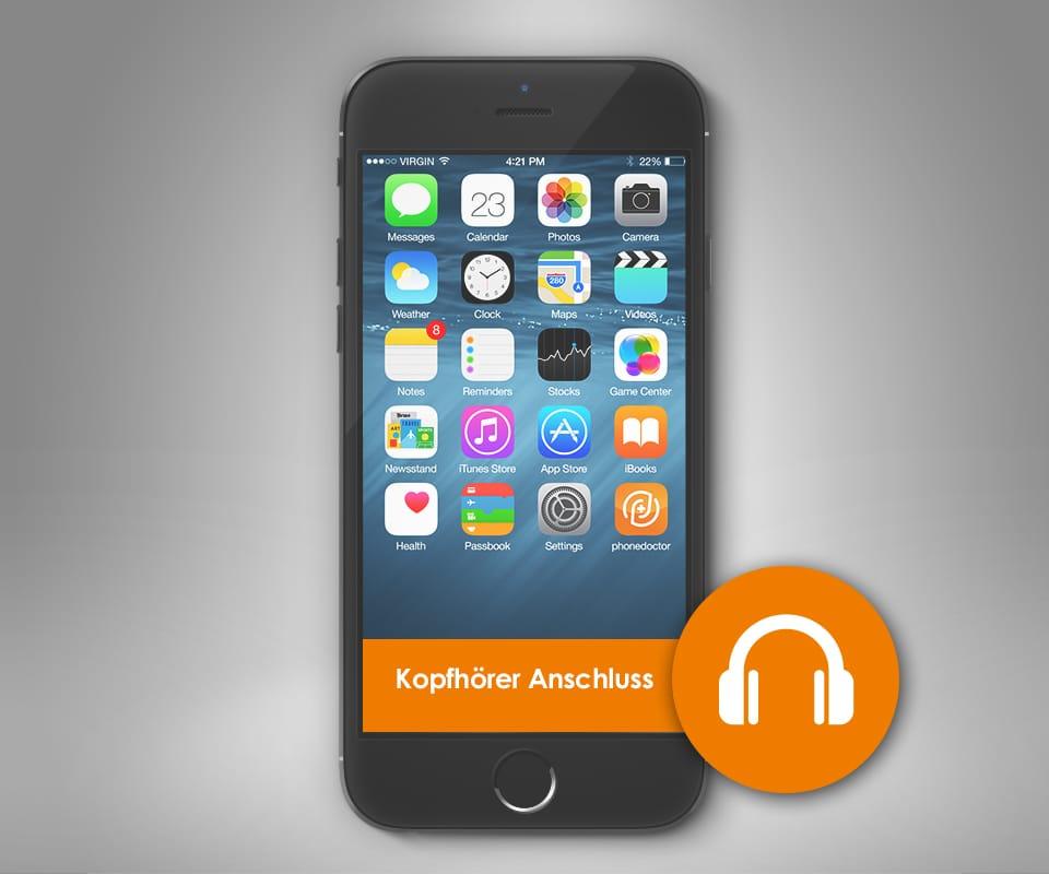 apple iphone 6 plus kopfh her anschluss reparatur. Black Bedroom Furniture Sets. Home Design Ideas