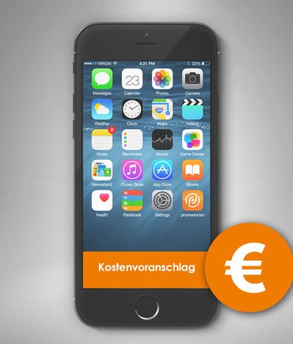 iPhone 7 Kostenvoranschlag