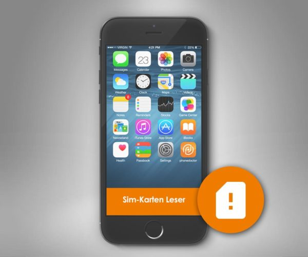 iPhone 7 blockierte SIM Karte entsperren