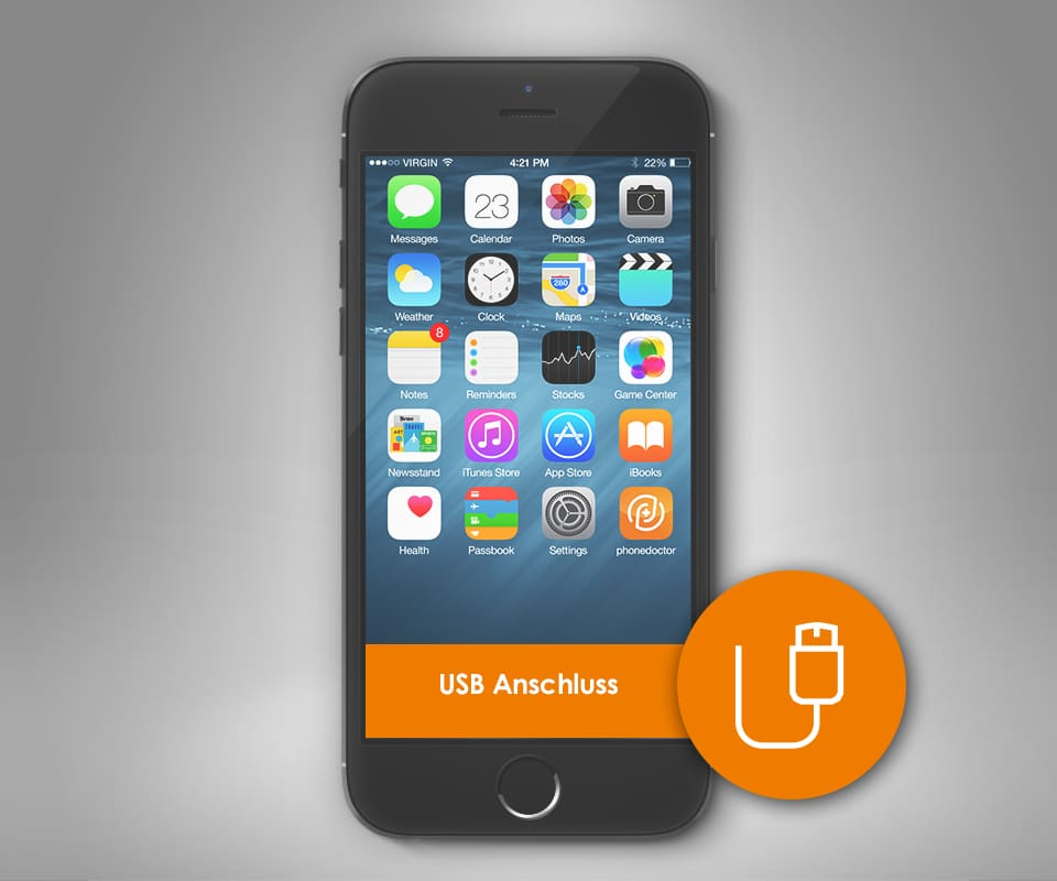 Iphone  Ladebuchse Defekt